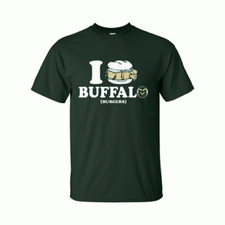 CSU vs CU Game Day Buffalo Burger Shirt